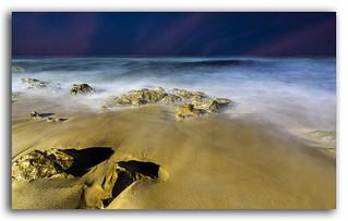 The Magical waves at Rishikonda beach!