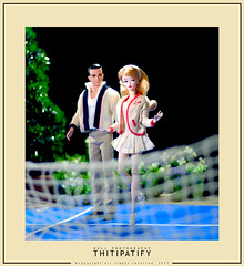 Romance of the Tennis Court (thitipatify) Tags: silkstone studio sweet classic couture doll diorama dress toy retro best robertbest barbie vintage valentine fashion gown glamour glam magazine hollywood holidays quality luxury figure portrait