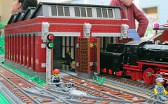 Train Shed v3 (7) (Duq) Tags: lego moc train trains shed engineshed