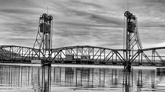 Stillwater Lift Bridge (TwinCitiesSeen) Tags: stillwater minnesota twincitiesseen tamron2875mm blackandwhite stcroixriver stillwaterliftbridge