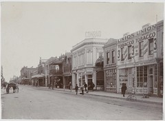 East end of Rundle Street - Viewing north side shops (State Records SA) Tags: srsa sa staterecordsofsouthaustralia southaustralia staterecords staterecordssa staterecordsofsa blackandwhite rundlestreet adelaide rundle