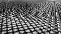 Network (adrianstadelmann) Tags: net gitter fuji bw astpic x70 macro grid lattice grating mesh bars grille netz chains