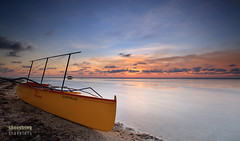 Muted Colors (engrjpleo) Tags: patarbeach bolinao sunset pangasinan philippines beach sea seascape sun boat landscape longexposure ndfilter seaside shore coast water waterscape outdoor sky
