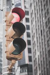 Traffic Lights Around Times Square In NYC (Peter Greenway) Tags: unitedstatesofameria greenlight usa amberlight trafficlights newyork flickr redlight