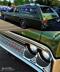 Vast & FURY-ious! (Hi-Fi Fotos) Tags: 1971 plymouth fury custom suburban wagon stationwagon 70s green family truckster hauler diptych clean stock restored original nikon d5000 hififotos hallewell