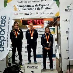 Ana Mariblanca  Cto de España de Triatlón Universitario UCAM 8