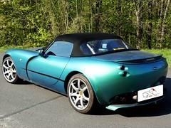 TVR Tamora Roadster (ck-cabrio_creativelabs) Tags: tvr tamora roadster convertible ckcabrio assembly trimshop softtop cabriolet
