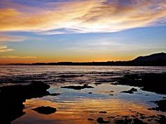 Reflejos (Antonio Chacon) Tags: andalucia atardecer marbella málaga mar mediterráneo costadelsol cielo españa spain sunset puestadesol nubes nature naturaleza paisaje orilla agua