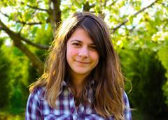 sister (kamarella) Tags: portrait spring nature nomakeup beautiful girl sister teenager