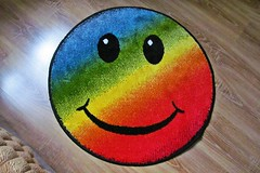 rainbow smile :) (green_lover) Tags: smile carpet smileonsaturday colours object thechallengefactory