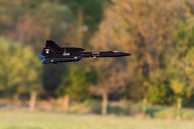 Nathan's SR-71 Blackbird.