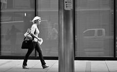 Hurry (burnt dirt) Tags: houston texas downtown city town mainstreet street sidewalk corner crosswalk streetphotography fujifilm xt1 bw blackandwhite girl man woman people person couple pair group crowd walking talking standing looking boots heels stilettos sandals model photographer camera lens dress skirt shorts glasses sunglasses purse bag phone cellphone pose longhair shorthair ponytail kneehigh blonde brunette headphones cap hat asian friends bike bicycle prom lovers