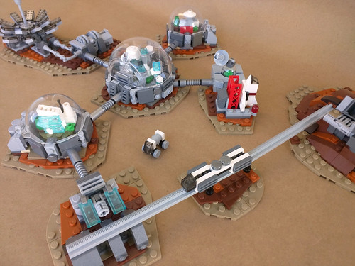 Expanded Mars Colony, From FlickrPhotos