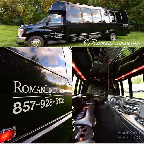 Our party bus is like a club on wheels. Call now to book yours! ------ For booking & inquiries: Call 857-928-5105  romanlimousine.com Email: info@romanlimousine.com ----- #limo #party #limousine #hummerlimo #hummerh2 #boston #streetsofboston #newburystree