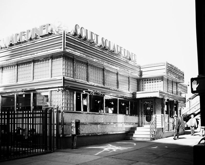 Court Square Diner.