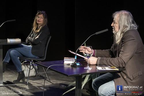 Sabine Gruber im Kunsthaus Weiz