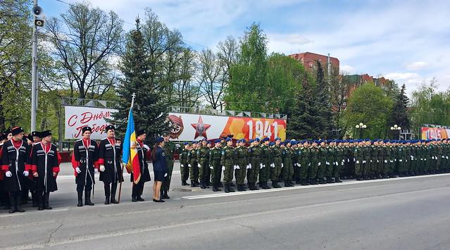 В столицеРФ закончилась генеральная репетиция Парада Победы