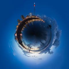 Brighton Beach British Airways i360 Spherical Panorama (lomokev) Tags: panorama canoneos5dmarkiii canoneos5dmark3 canon eos 5d brightoni360 britishairwaysi360 i360 bai360 brighton architecture marksbarfield beach seascape landscape blue sphericalpanorama sky pier westpier