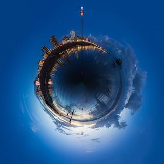 Brighton Beach British Airways i360 Spherical Panorama