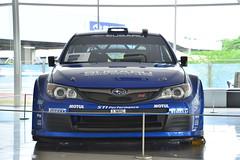Impreza WRC 2008 at STI Gallery (junjunohaoha) Tags: subaru wrx impreza sti tokyo mitaka japan スバル cars nikon d610 car