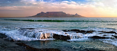 Table Mountain Rock Falls Pano (Panorama Paul) Tags: paulbruinsphotography wwwpaulbruinscoza southafrica westerncape capetown tablemountain blaauwbergbeach waves beach sunset nikond800 nikkorlenses nikfilters panorama