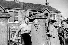 Image titled Betty Watt with Agnes Miller, Dunoon 1950s