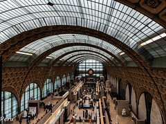 Orsay (Perurena) Tags: museo museum arte pinacoteca cuadros pictures paintings impresionistas cupula luz light personas gentes piara paris francia