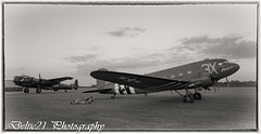 20170513-IMG_7679-Edit-Edit-Edit (deltic21) Tags: ngc vividstriking lancaster justjane eastkirkby tle timeline photocharter raf dakota c47 evening wwii bomber bw black white retro remembering