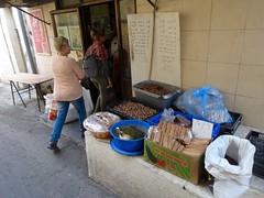 Klein koffietentje in Haifa