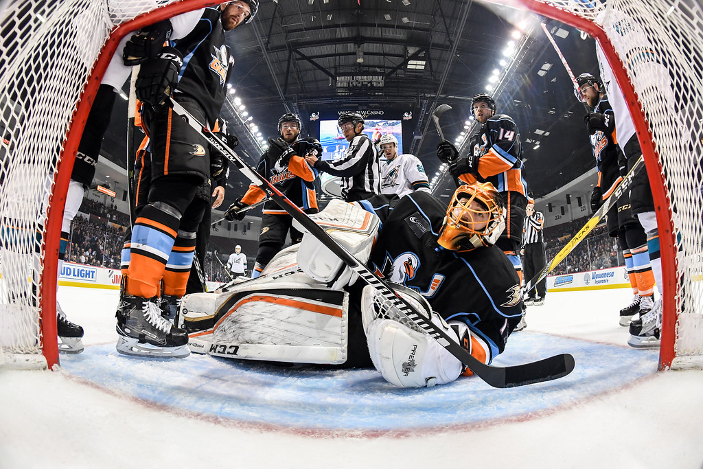 San Diego Gulls Vs. San Jose Barracuda 5.10.17