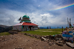 The shrine and the rainbow