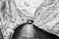 Naran Glacier - Season Opening (AQAS.Clicks) Tags: landscape pakistan nature tracking photography ngc travelpakistan beautifulpakisan travel canon perspective moments natureshots naturephotography naturelovers scenery aqas artist blackwhite mountains clouds naran glacier