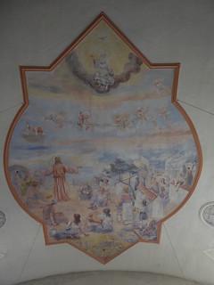 Deckenmalerei Bergpredigt