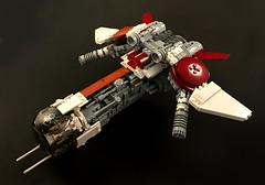 Black Sun Starfighter (goatman461) Tags: blacksun lego starfighter minifigscale