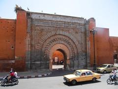 Bab Agnaou, Marrakech (mktdg) Tags: morocco marakech marakesh africa travel street gate arch history bab agnaou almohad dynasty kasbah