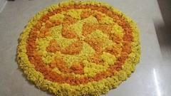IMG-20160916-WA0002 (bhagwathi hariharan) Tags: onam pookalam flower rangoli nallaospara nalasopara kolam design kerala traditional