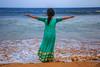 Relax @ Bheemili beach, Vizag (vamsichennupalli) Tags: bheemili beach vizag sea scenery water relax happiness waves evening sunset laasya calm