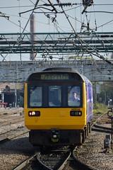 142046, Doncaster (JH Stokes) Tags: dmu dieselmultipleunits railbus pacer publictransport doncaster eastcoastmainline ecml trains trainspotting t tracks railways transport photography 142046 northernrail