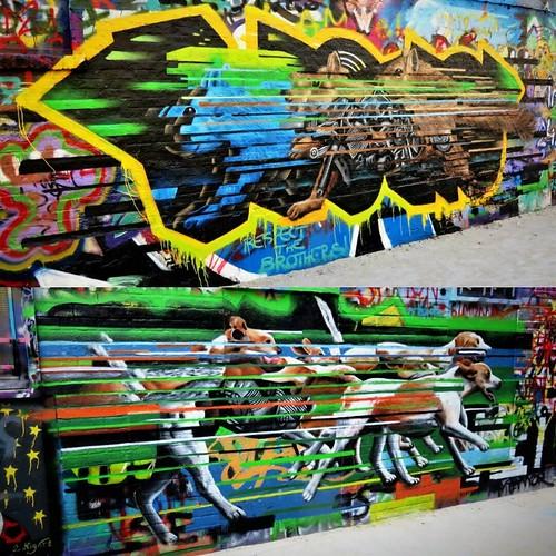 More from #graffitistreet / 2 x #art by #CeePil - #Gent #Belgium #streetart #graffiti #streetartbel #streetart_daily #urbanart #urbanart_daily #graffitiart_daily #graffitiart #streetarteverywhere #mural #wallart #gentje #gantoise #visitgent #ilovestreetar