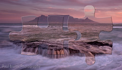 Table Mountain - Jigsaw Pieces (Panorama Paul) Tags: paulbruinsphotography wwwpaulbruinscoza southafrica westerncape capetown tablemountain blaauwbergbeach waves beach sunset nikond800 nikkorlenses nikfilters jigsaw puzzle