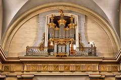seysses. L'église St Blaise. L'Orgue. (sergeimbert) Tags: seysses hautegaronne eglises orgues