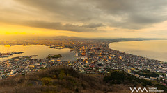 壞天氣的函館山 Bad weather of Mt. Hakodate / Hakodate, Japan (yameme) Tags: mthakodate 函館山 函館 hakodate japan hokkaido 日本 北海道 sony evil mirrorless alpha travel 旅行 世界三大夜景 sunset 日落 canon eos 1635mmlii emount