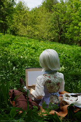 painter7 (Ermilena Puppeteer) Tags: leekeworldadolf leekeworld abjd bjd balljointeddoll infant