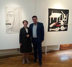 Με τον Διευθυντή Δευτεροβάθμιας Εκπαίδευσης Φλώρινας κ. Παύλο Ιωάννου
