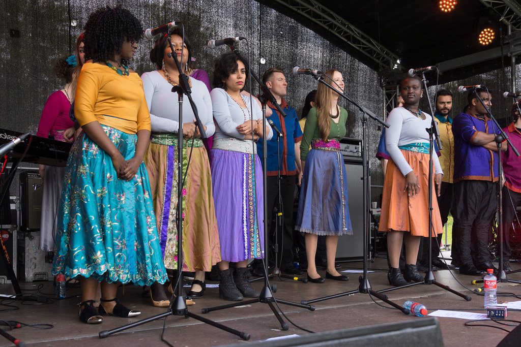 Discovery Gospel Choir At Africa Day 2017 In Dublin [Ireland Leading Multicultural Choir]-128821