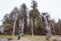 Vancouver - XXIV (• CHRISTIAN •) Tags: vancouver bc colombiebritannique britishcolumbia canada stanleypark totem art amérindien autochtone nativeamerican grandangle wideangle