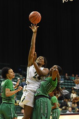 WBasketball-vs-North Texas, 1/26, Chris Crews, DSC_4860 (PsychoticWolf) Tags: 49ers basketball charlotte cusa d1 green mean ncaa ninermedia north nt texas unc uncc unt womens