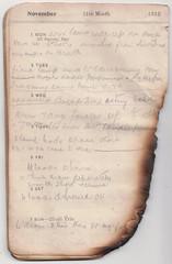 1-7 Nov 1915 (wheresshelly) Tags: ww1 wwi world war 1 australia gallipoli egypt military australian 4th field ambulance anzac morton wilfred