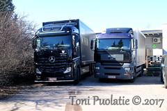 Juha Rantakaulio Oy Ja M. Rossi Ky (puolatie95) Tags: mercedes man trucks olvi sandels rekka rekkakuvat rekkakuvia truckspotting truck trucking juomaautot