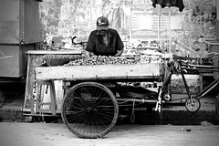 Day to Day-life (Tanvir_Reza) Tags: shopkeeper khulna bangladesh vegetable people old poor vehicle street road side shop